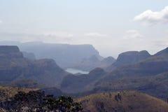Gorge de fleuve de Blyde, Afrique du Sud Photos libres de droits