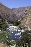 Gorge de fleuve de Kern Images libres de droits