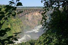 Gorge de fleuve de Zambezi Photographie stock