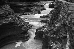 Gorge de gorge de Watkins Image stock