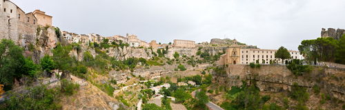 Gorge de Huecar à Cuenca, Espagne Image stock