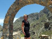 Gorge de Kourtaliotis Asomatos photo libre de droits