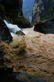 Gorge de la HU Tiao (tigre branchant) Images stock