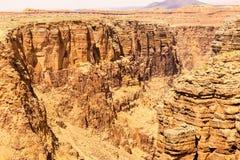 Gorge de la rivière Little Colorado Image stock