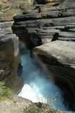 Gorge de Mistaya Photo stock