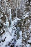 Gorge de Partnachklamm - de Partnach près de Garmisch-Partenkirchen bavaria l'allemagne photos stock