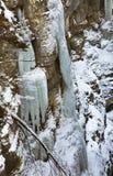 Gorge de Partnachklamm - de Partnach près de Garmisch-Partenkirchen bavaria l'allemagne photographie stock libre de droits