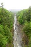 Gorge de Quechee, Vermont, Etats-Unis Photos libres de droits