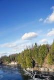 Gorge de Ranney - Cambellford, Ontario Photos libres de droits