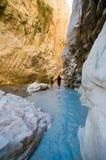 Gorge de Saklikent en Turquie méridionale Photo stock