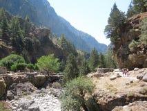 Gorge de Samaria Images stock