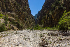 Gorge de Samaria photos stock