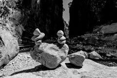 Gorge de Samaria Photos libres de droits