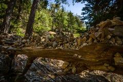 Gorge de Samaria Photographie stock libre de droits