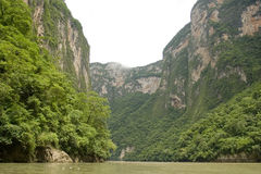Gorge de Sumidero Photo libre de droits
