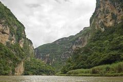 Gorge de Sumidero Image stock