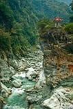 Gorge de Taro-ko Photographie stock libre de droits