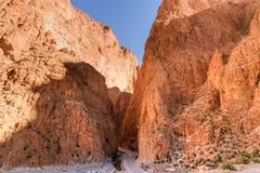 Gorge de Todgha au Maroc image libre de droits