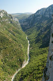 Gorge de Verdon Photo stock