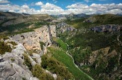 Gorge de Verdon Image stock