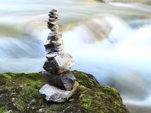 Gorge de Vintgar La Slovénie saignée Images stock