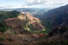 Gorge de Waimea Photos libres de droits