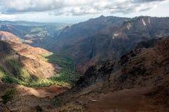 Gorge de Waimea Photo libre de droits