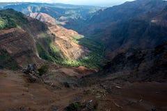 Gorge de Waimea Photographie stock libre de droits