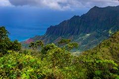 Gorge de Waimea Photo stock