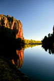 gorge de windjana Photos stock