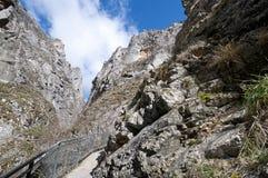 Gorge de Yecla de La Images stock