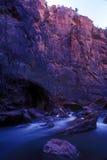 Gorge de Zion, Utah Images libres de droits