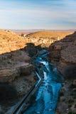 Gorge DES Berrem, Midelt, Maroc Images libres de droits