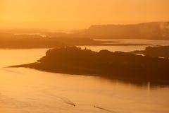 Gorge du fleuve Columbia Images libres de droits