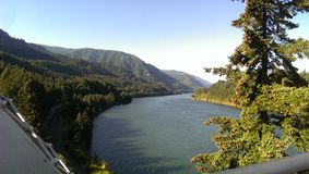Gorge du fleuve Columbia Photos libres de droits
