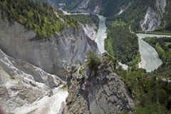 Gorge du Rhin Photo stock