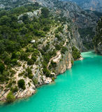 Gorge du verdon Royalty Free Stock Photos