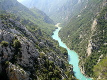 Gorge du Verdon Stock Photo
