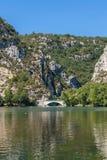 Gorge du Verdon canyon river in France. Gorge du Verdon canyon river in south of France Stock Images