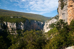 Gorge du Verdon in France Royalty Free Stock Images