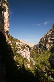 Gorge du Verdon in France Stock Image