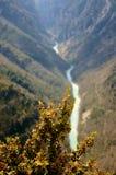 Gorge du Verdon, France stock image