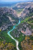 Gorge du Verdon royalty free stock photography