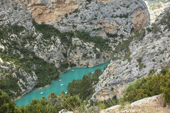 Gorge du Verdon, Provence, France Stock Photos