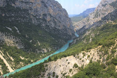 Gorge du Verdon, Provence, France Stock Image