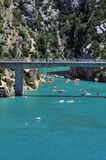 Gorge du Verdon Stock Image