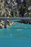 Gorge du Verdon. Provence in Southern France Stock Image