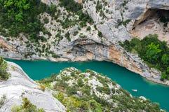 Gorge du Verdon in Provence Stock Photos