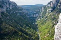 Gorge du Verdon in Provence Stock Photography