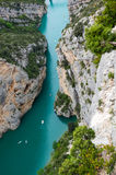Gorge du Verdon in Provence Royalty Free Stock Photos